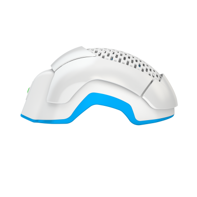 Side view of the LH80 PRO Laser Helmet.